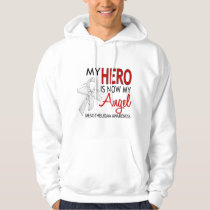 My Hero Is My Angel Mesothelioma Hoodie