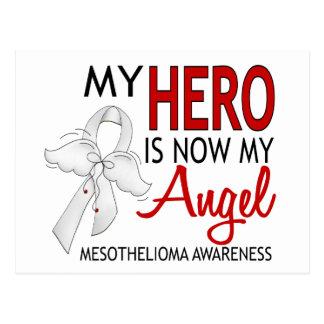 My Hero Is My Angel Mesothelioma Postcard