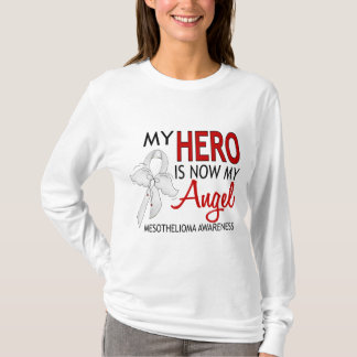 My Hero Is My Angel Mesothelioma T-Shirt