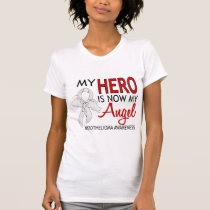 My Hero Is My Angel Mesothelioma T-Shirt
