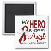 My Hero Is My Angel Multiple Myeloma Magnet