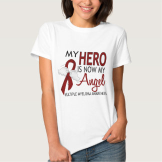 My Hero Is My Angel Multiple Myeloma T Shirts