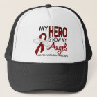 My Hero Is My Angel Multiple Myeloma Trucker Hat
