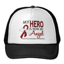My Hero Is My Angel Multiple Myeloma Trucker Hat