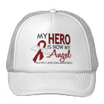 My Hero Is My Angel Multiple Myeloma Trucker Hats