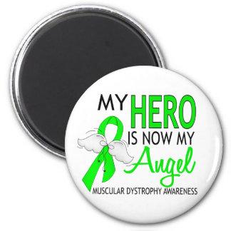 My Hero Is My Angel Muscular Dystrophy Fridge Magnets