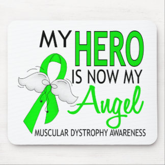 My Hero Is My Angel Muscular Dystrophy Mouse Pad