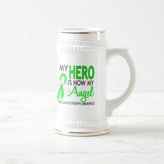 My Hero Is My Angel Muscular Dystrophy 18 Oz Beer Stein