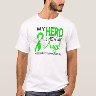 My Hero Is My Angel Muscular Dystrophy T-Shirt