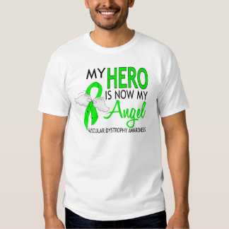 My Hero Is My Angel Muscular Dystrophy Tee Shirts