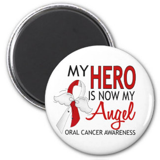 My Hero Is My Angel Oral Cancer Magnet