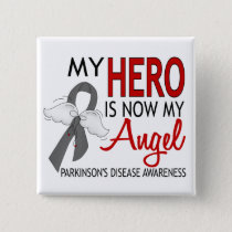 My Hero Is My Angel Parkinson's Disease Pinback Button