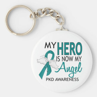 My Hero Is My Angel PKD Keychain