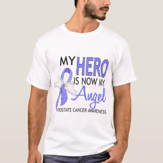 My Hero Is My Angel Prostate Cancer T-Shirt