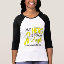 My Hero Is My Angel Sarcoma T-Shirt