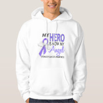 My Hero Is My Angel Stomach Cancer Hoodie