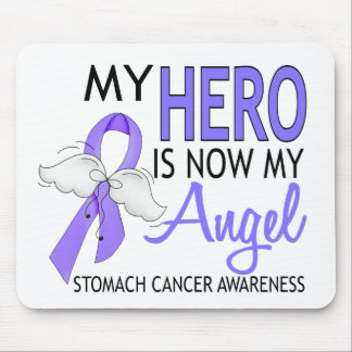 My Hero Is My Angel Stomach Cancer Mouse Pad