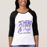 My Hero Is My Angel Stomach Cancer Shirts