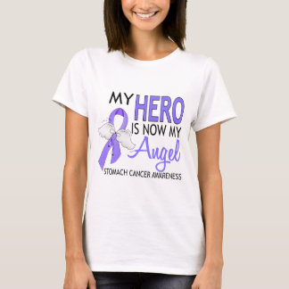 My Hero Is My Angel Stomach Cancer T-Shirt