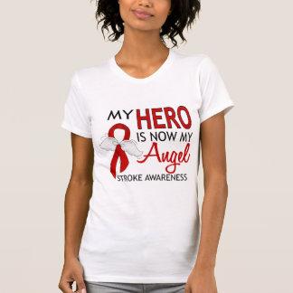 My Hero Is My Angel Stroke T-shirt