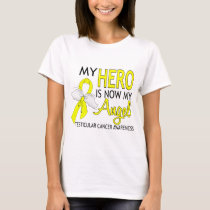 My Hero Is My Angel Testicular Cancer T-Shirt