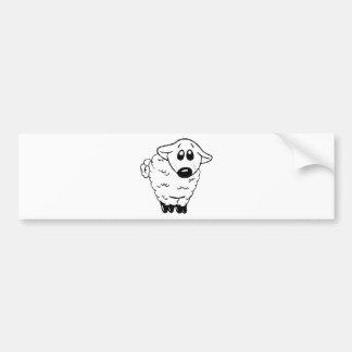 My Hero Lamb Bumper Sticker