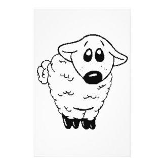 My Hero Lamb Stationery