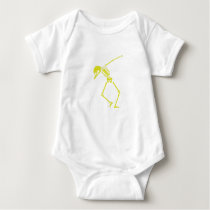 My Hero Lymphoma Awareness Support Gifts Baby Bodysuit