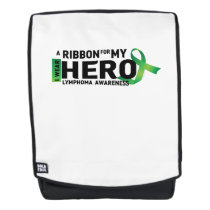 My Hero Lymphoma Awareness Support Gifts Backpack