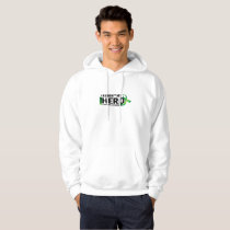 My Hero Lymphoma Awareness Support Gifts Hoodie