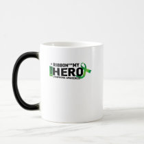 My Hero Lymphoma Awareness Support Gifts Magic Mug