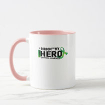 My Hero Lymphoma Awareness Support Gifts Mug