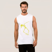 My Hero Lymphoma Awareness Support Gifts Sleeveless Shirt