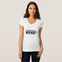 My Hero Lymphoma Awareness Support Gifts T-Shirt