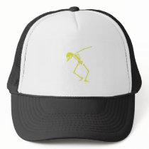 My Hero Lymphoma Awareness Support Gifts Trucker Hat
