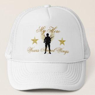 my hero, MK-634-B_Hip-Hop_Iced_Out_Bling_3D_Sta... Trucker Hat