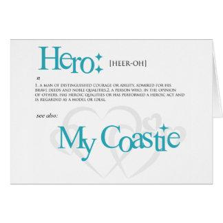 My Hero, My Coastie Card