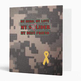 My Hero, My Love, My Soldier, My Best Friend 3 Ring Binder