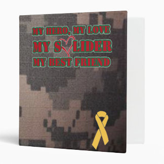 My Hero, My Love, My Soldier, My Best Friend -wife Binder