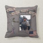 My Hero, My Soldier American MoJo Pillow