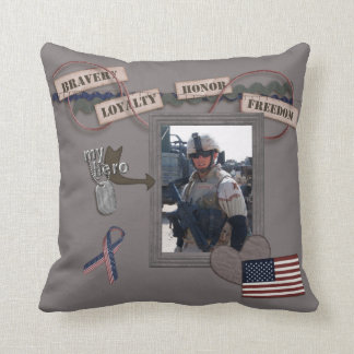 My Hero, My Soldier American MoJo Pillow