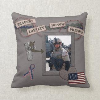 My Hero My Soldier American MoJo Pillow