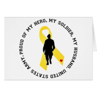 My Hero, My Soldier, My Husband Card