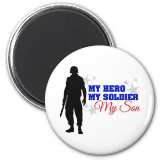 My Hero My Soldier My Son Refrigerator Magnets