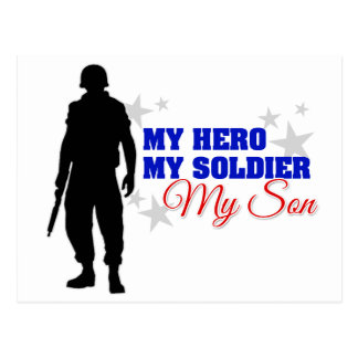 My Hero, My Soldier, My Son Postcard