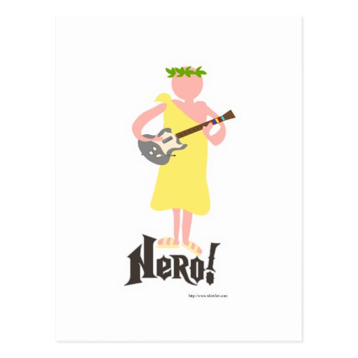 My Hero Nero Postcard