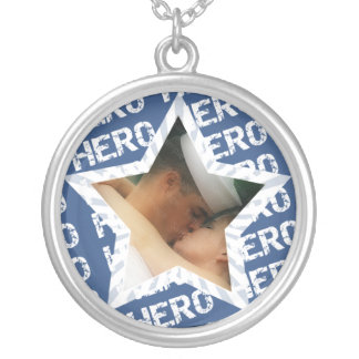 My Hero Sailor Photo Necklace
