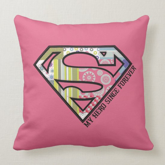 My Hero Since Forever Throw Pillow