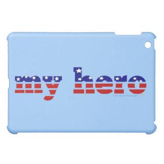 My Hero Stars and Stripes Patriotic Red White Blue iPad Mini Covers