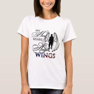 My Hero Wears Angel Wings T-Shirt